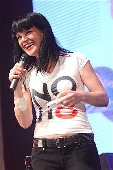 Pauley Perrette - NOH8 Campaign 4th Anniversary Celebration 12/12/2012