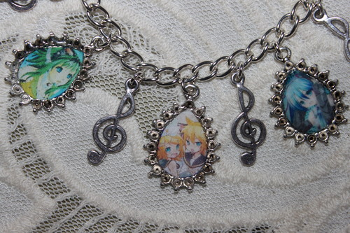 Pick Your Own VOLCALOIDS characters charm bracelet