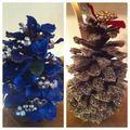 Pine cone Christmas tree's