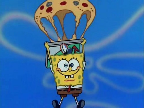 pizza Parachute