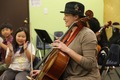 Playing Cello with YOLA at HOLA Students - December 6, 2012
