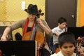 Playing Cello with YOLA at HOLA Students - December 6, 2012 - amanda-righetti photo