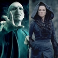 Potter inspired Merlin - the villain/villainess - arthur-and-gwen photo