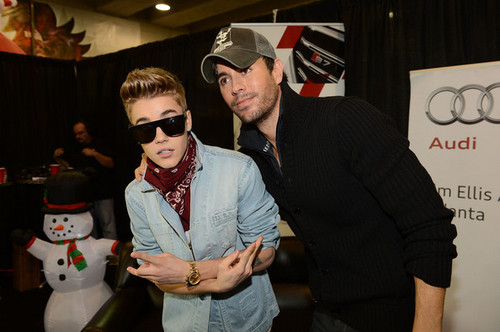 Power 96.1's Jingle Ball 2012 - Backstage