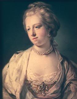 Queen Caroline-Mathilde of Denmark
