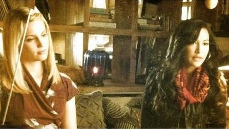Quinn and Santana season 4