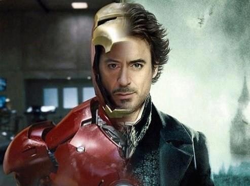 Robert Downey Jr karatasi la kupamba ukuta probably containing a surcoat titled RDJ