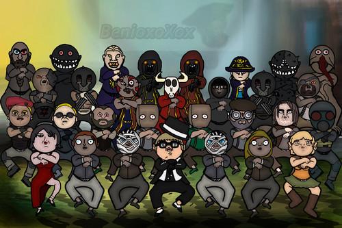 Resident Evil wallpaper titled RE4 ~ Gangnam Style