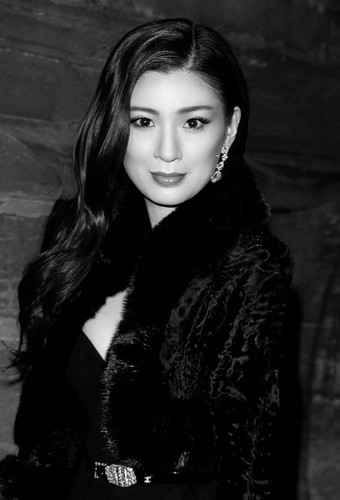 Rebecca Wang attends exclusive Chanel's Métiers d'Art fashion show