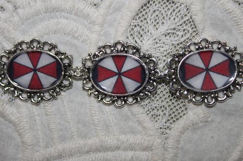Resident Evil UMBRELLA CORP symbol bracelet