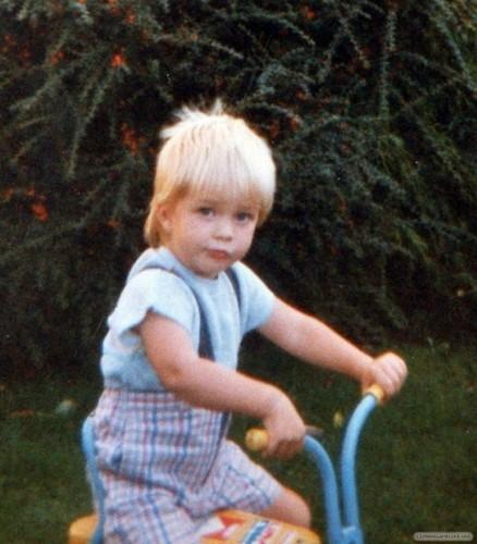 Robert's childhood pics