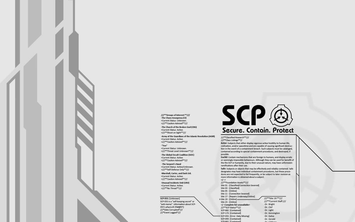 SCP پیپر وال