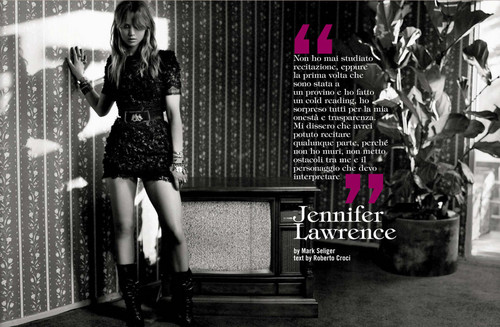 Scans from Vogue Italia December 2012