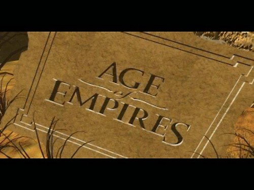 "Screenshot for ""Age of Empires"" Intro"