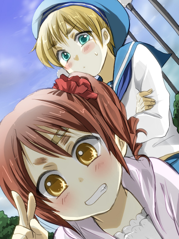 Sealand and Wy - Hetalia Fan Art (33001281) - Fanpop