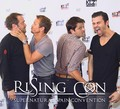 Seb, Misha, Mark and Matt - Rising Con - sebastian-roche photo