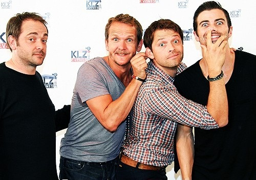 Seb, Misha, Mark and Matt - Rising Con
