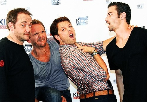 Seb, Misha, Mark and Matt - Rising Con