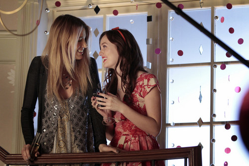 Serena and Blair in the Past