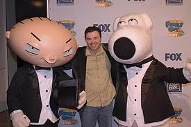 Seth with Stewie and Brian