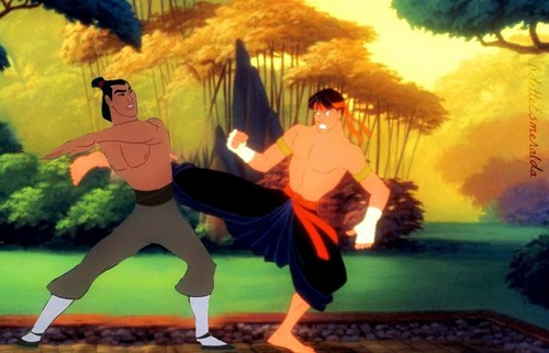 Shang fighting the Prince