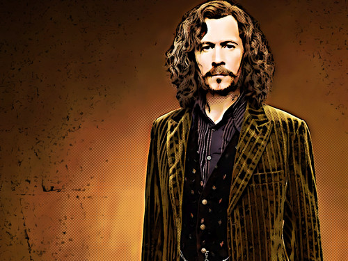 Sirius Black from Обои to comic_Pp