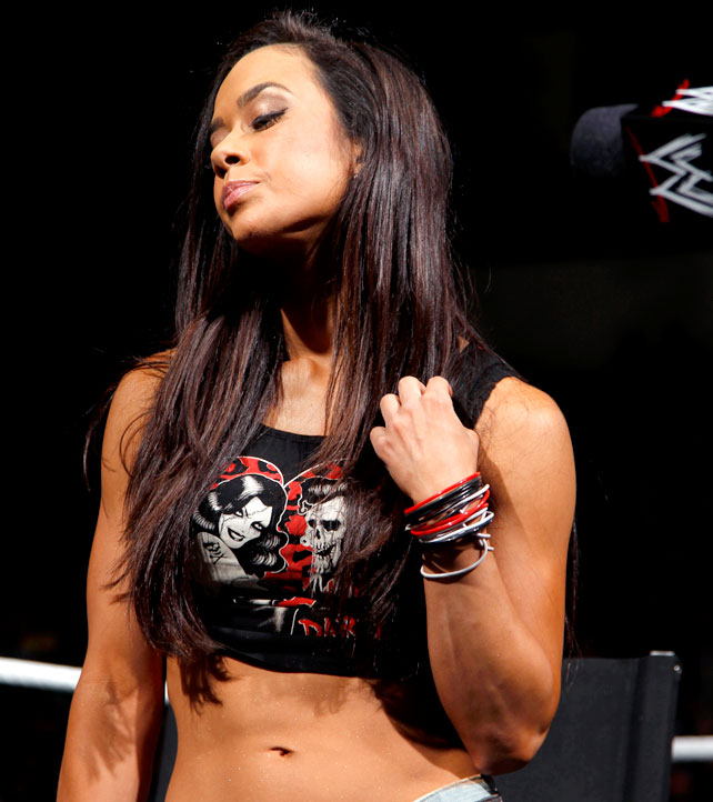 AJ Lee Smackdown Digitals 12/18/12