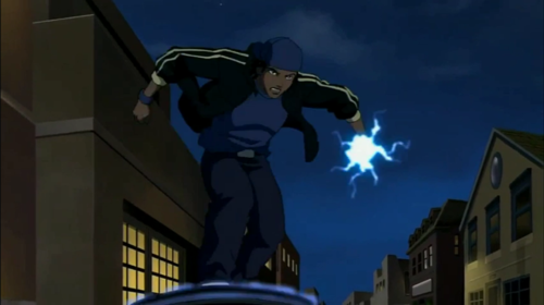 Young Justice OC'S!!! wallpaper containing a jalan, street titled Static comes to Young Justice
