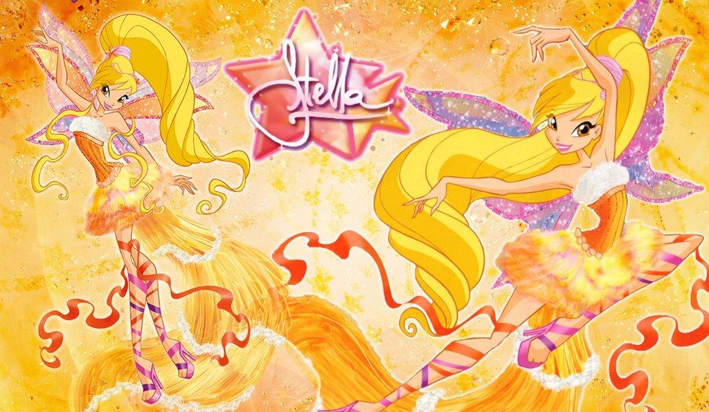 The winx club stella harmonix wallpaper