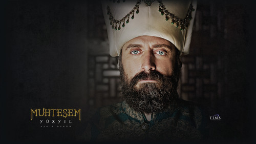 Muhtesem Yüzyil - Magnificent Century wallpaper titled Sultan Suleyman