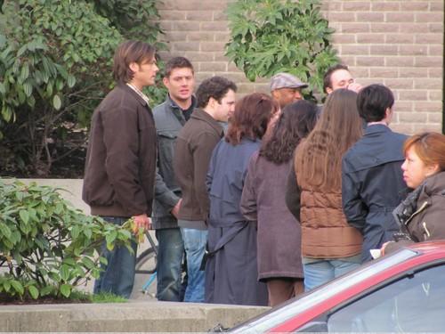 Supernatural: On set of 6.03