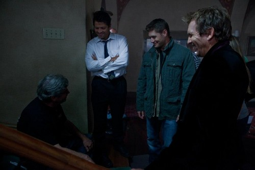 Supernatural: On set of 6.03