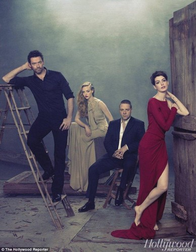 THR Les Miserables Cast photoshoot 2012