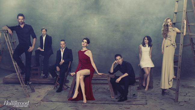 THR Les Miserables Cast photoshoot 2012 - Les Miserables