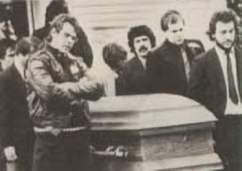 The 1982 Funeral Of Actor Comedian John Belushi The 80s
