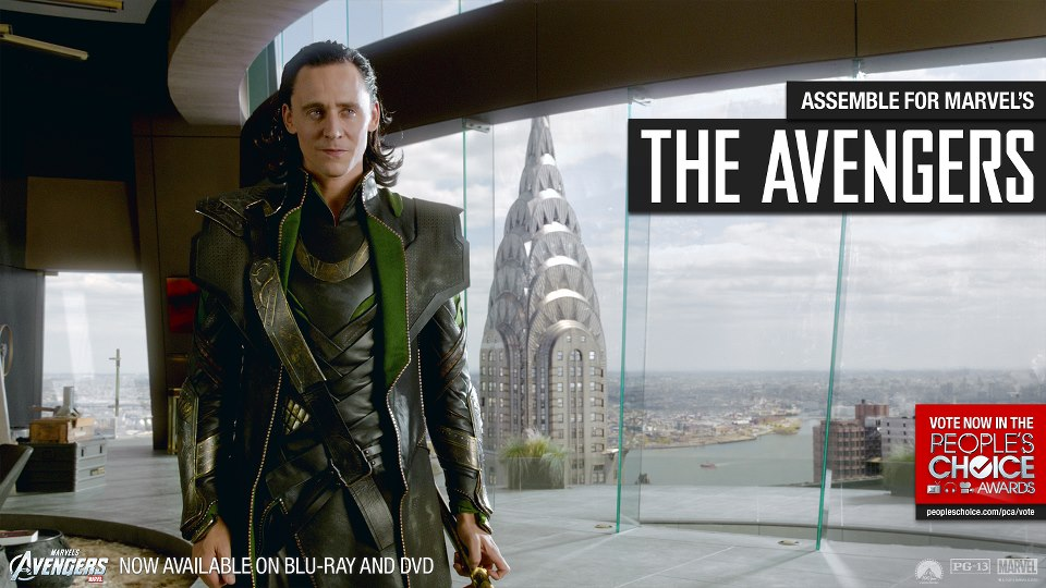The Avengers People's Choice Awrds