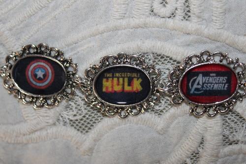 The Avengers emblems bracelet