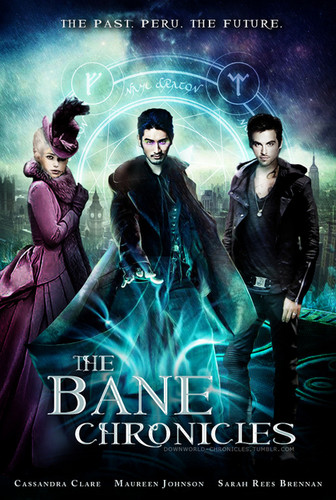 mortal na mga instrumento wolpeyper entitled The Bane Chronicle poster
