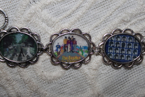 The Bealtes Album Covers art bracelet