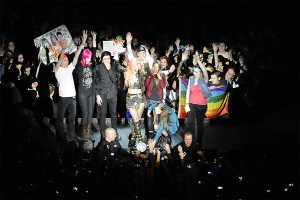 The Born this Way Ball Tour in Russia