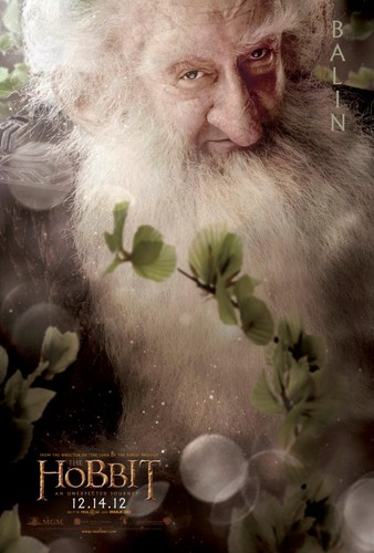 The Hobbit Movie Poster - Balin