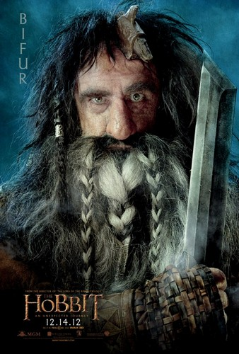 The Hobbit Movie Poster - Bifur