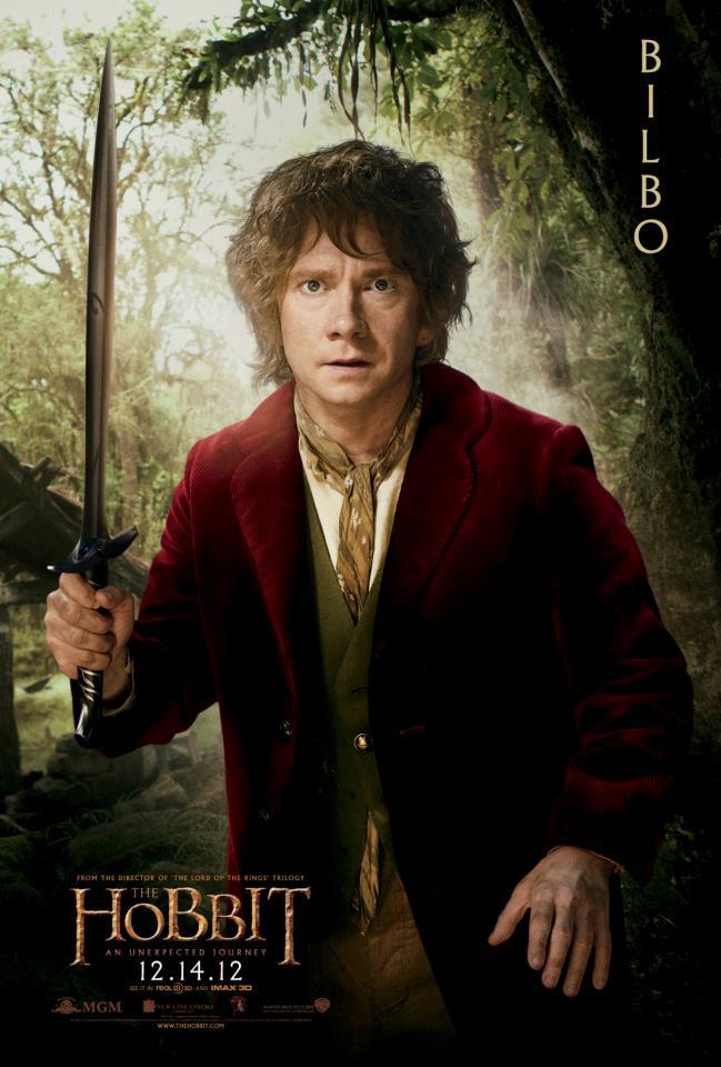 The Hobbit Movie Poster - Bilbo