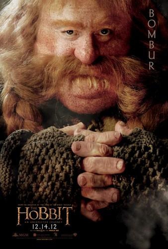 The Hobbit Movie Poster - Bombur