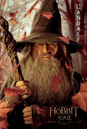 The Hobbit Movie Poster - Gandalf