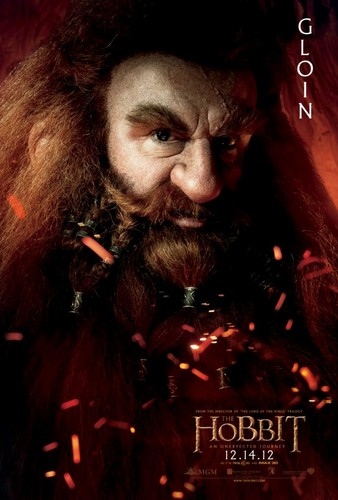 The Hobbit Movie Poster - Gloin