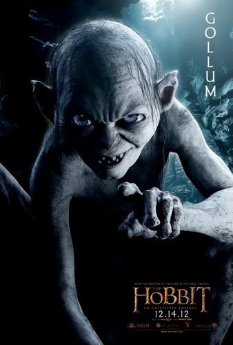 The Hobbit Movie Poster - Gollum