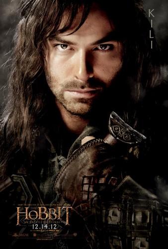 The Hobbit Movie Poster - Kili