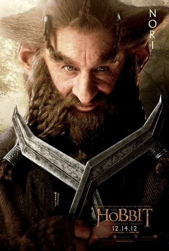 The Hobbit Movie Poster - Nori
