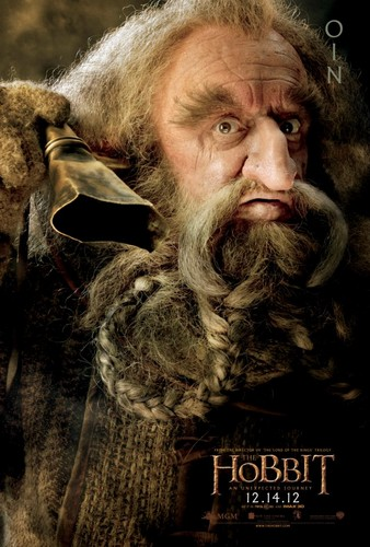 The Hobbit Movie Poster - Oin
